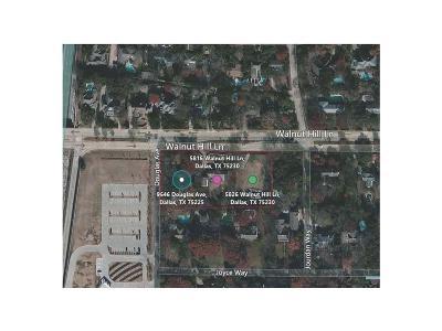 Dallas County, Ellis County Residential Lots & Land For Sale: 9646 Douglas Avenue