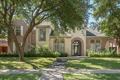 Plano Single Family Home Active Option Contract: 5948 McFarland Drive