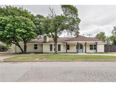 Fort Worth Single Family Home For Sale: 2409 Winthrop Avenue