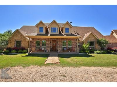 Abilene Single Family Home Active Option Contract: 246 County Road 661