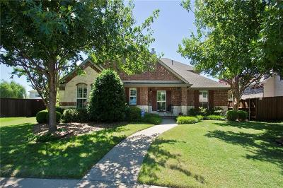 Allen Single Family Home Active Contingent: 1701 Ponderosa Drive