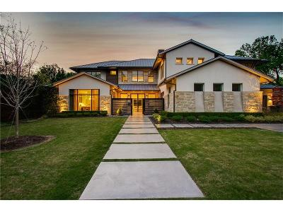 Dallas County Single Family Home For Sale: 4421 Bluffview Boulevard