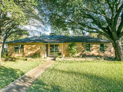 Dallas Single Family Home For Sale: 8450 San Leandro Drive
