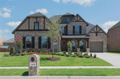 Wylie Single Family Home For Sale: 209 Red Bud Pass