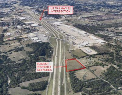 Sherman TX Commercial Lots & Land For Sale: $1,880,000