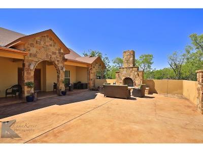 Abilene Single Family Home For Sale: 210 Nora Miller Road