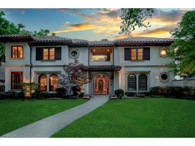 Dallas Single Family Home For Sale: 5 Green Park Drive