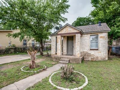 Dallas, Fort Worth Single Family Home Active Option Contract: 210 W Missouri Avenue