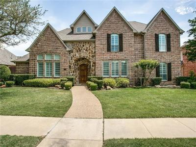 Plano Single Family Home Active Contingent: 7320 Lavery Drive
