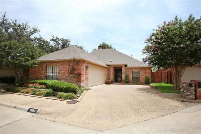 Addison Single Family Home Active Option Contract: 14854 Oaks North Place