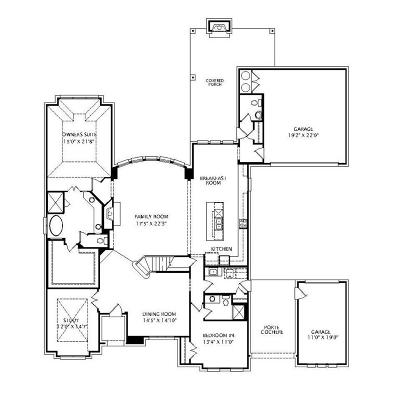 Single Family Home Active Contingent: 500 Glen Canyon Drive
