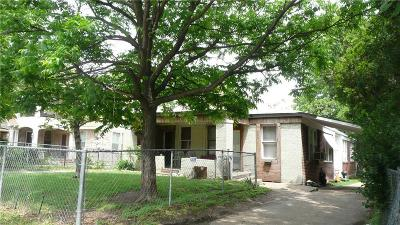 Dallas Single Family Home For Sale: 634 N Tyler Street