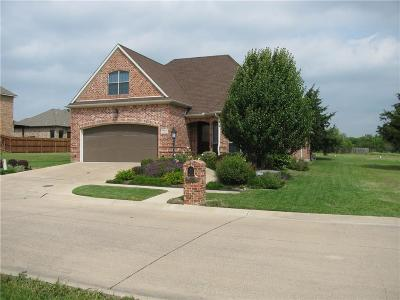 Ennis Single Family Home For Sale: 1700 Carnoustie Drive