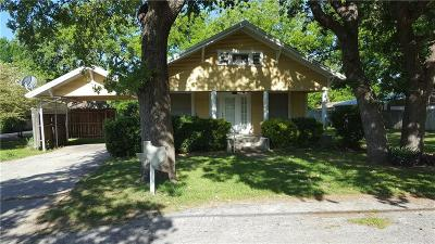 Rising Star Single Family Home For Sale: 512 Main S