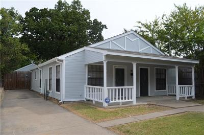 Dallas Single Family Home For Sale: 3024 Adolph Street