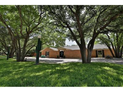 Abilene Single Family Home For Sale: 1817 Woodridge Drive