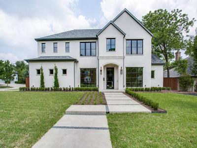 Dallas Single Family Home Active Option Contract: 6707 Brookshire Drive