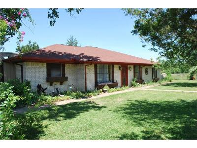 Kaufman Single Family Home Active Option Contract: 1791 Reese Road