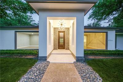Dallas Single Family Home Active Option Contract: 4156 Allencrest Lane