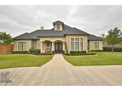 Abilene Single Family Home For Sale: 4573 La Hacienda Drive