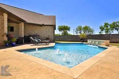 Abilene Single Family Home For Sale: 201 Periwinkle Trail
