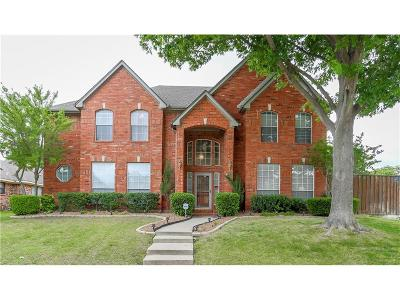 Plano Single Family Home Active Contingent: 2056 Brabant Drive