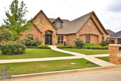 Abilene Single Family Home Active Contingent: 2341 Lynbrook Drive