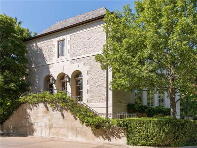 Dallas Single Family Home For Sale: 3901 Turtle Creek Boulevard #3