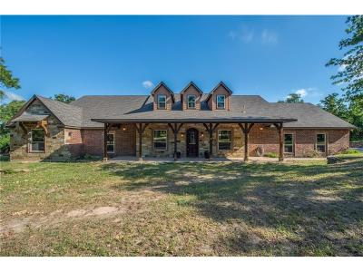 Weatherford Single Family Home For Sale: 278 Sandy Creek Trail
