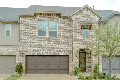 Lewisville Townhouse For Sale: 1005 Lady Lore Lane