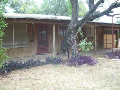 Brownwood TX Single Family Home For Sale: $48,000