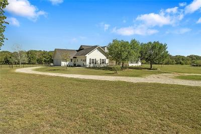 Celina Single Family Home Active Option Contract: 3805 County Road 1005
