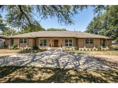 Northwood Hills Estates Single Family Home For Sale: 6229 Stonehill Drive