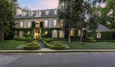University Park Single Family Home For Sale: 6101 Saint Andrews Drive