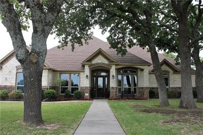 Weatherford Single Family Home Active Contingent: 191 Cartwright Park Road