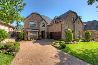 Denton Single Family Home For Sale: 308 Thistle Ridge