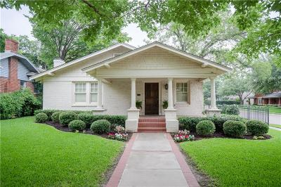 Fort Worth Single Family Home For Sale: 1200 Clover Lane