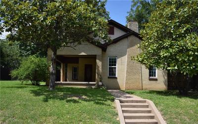 North Fort Worth Single Family Home For Sale: 1615 Lee Avenue