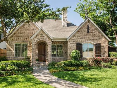 Dallas Single Family Home For Sale: 5745 Stanford Avenue
