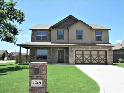 Stephenville Single Family Home Active Option Contract: 1748 Bull Elk