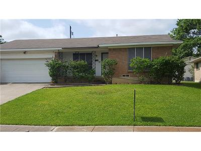 Mesquite Single Family Home For Sale: 2216 Bayberry Drive