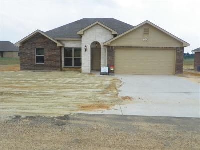 Mabank Single Family Home Active Contingent: 106 Oak Springs Loop