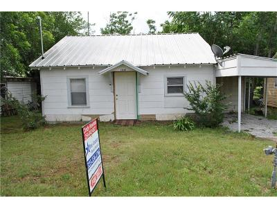 Comanche Single Family Home For Sale: 1106 N Austin Street