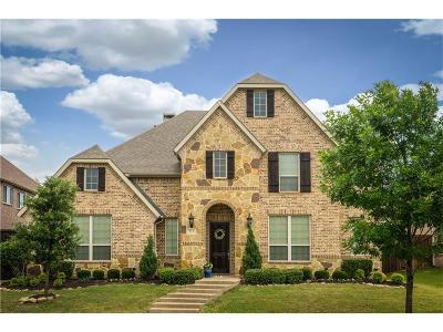 Lewisville Single Family Home Active Option Contract: 513 Lavaine Lane
