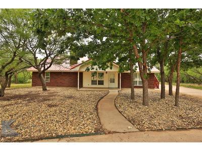 Abilene Single Family Home For Sale: 671 Hwy 83-84