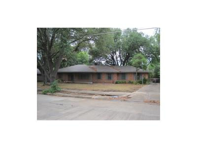 Dallas Single Family Home Active Option Contract: 7514 Northaven Road