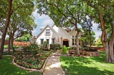 Richardson Single Family Home For Sale: 3325 Carriage Court