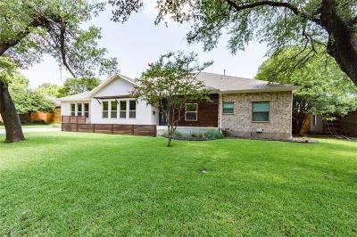 Single Family Home For Sale: 7515 Northaven Road