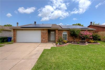 The Colony Single Family Home Active Option Contract: 5504 Rutledge Drive