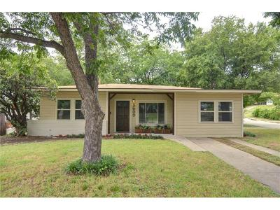 Fort Worth Single Family Home For Sale: 3600 Ashland Avenue
